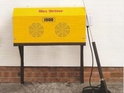 Dirt Driver Wall Mounted High Pressure Cold Washer