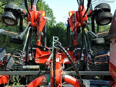 Vicon Andex 724 Twin Rotor Rake