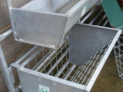 Modulamb Hook on Troughs & Hayracks