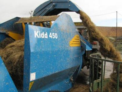 Kidd 450 - Bale Shredder