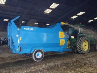 KIDD 450 Bale Shredder