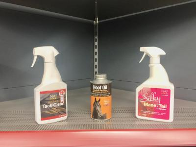 Naf Tack Clean/ Hoof Oil/ Mane and Tail