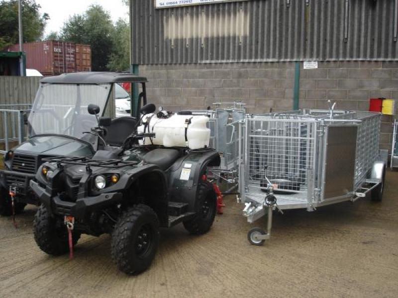Modulamb Mini mobile sheep handling trailer