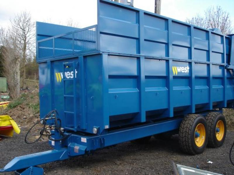 West Silage & Grain Trailer (12 ton)