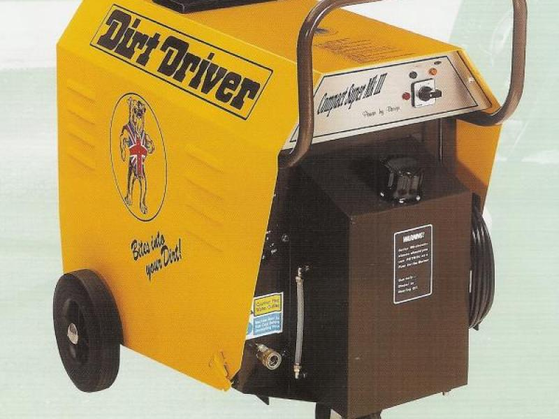 Dirt Driver Heavy Duty Hot/Cold & Steam Cleaner - Super Compact MK3
