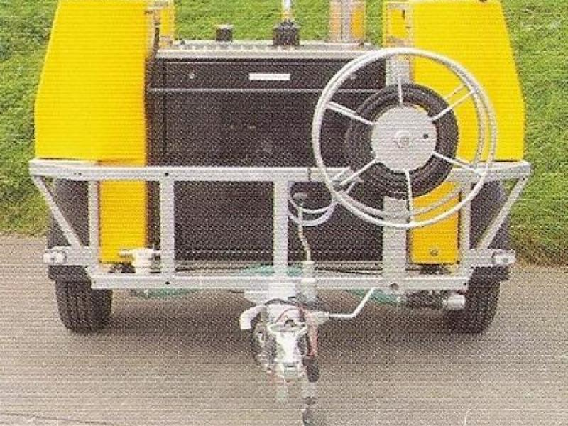 Dirt Driver Trailer Mounted Diesel Powered Hot Washer - Model NDHM.30/ST