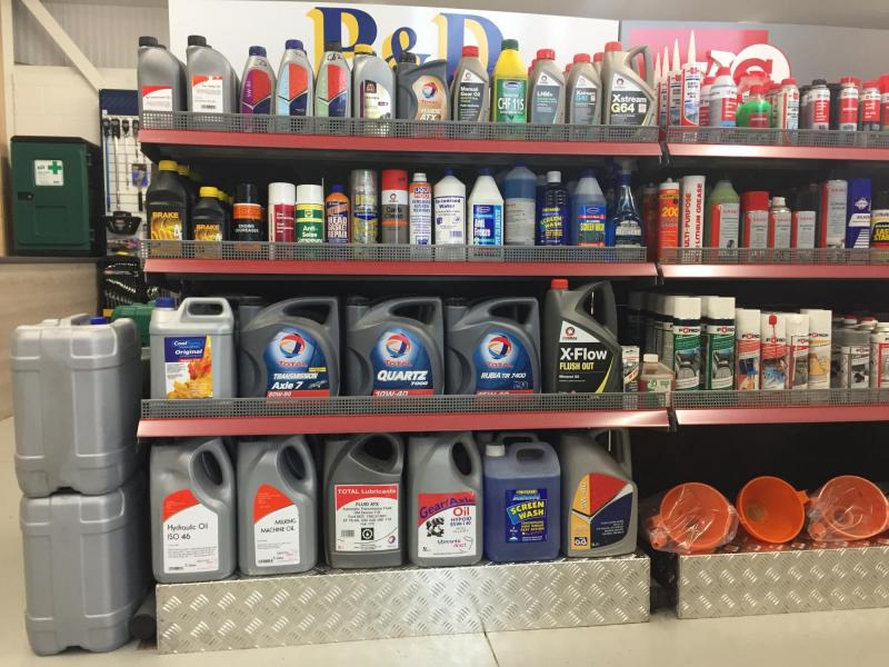 Oils/Lubricants/Cleaners/Solvents Full range