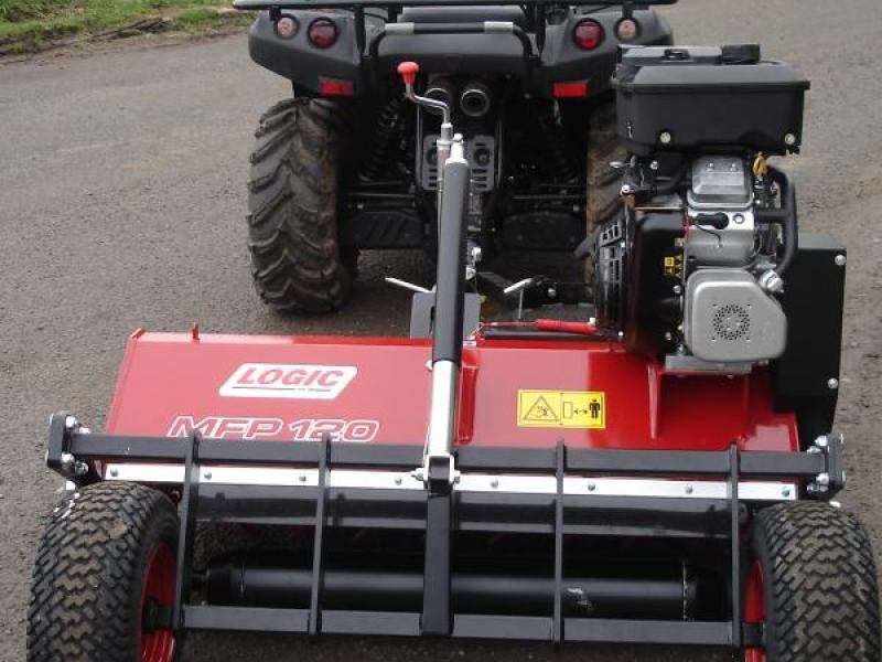 Logic Flail Mower - MFP 120 for Sale - P and D Engineering (Bredon) Ltd