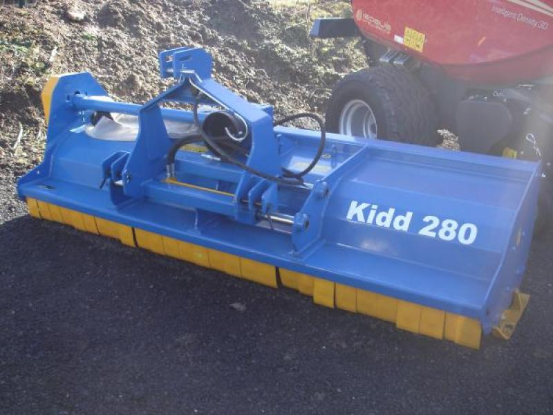 Kidd 280 Flail Mower For Sale P And D Engineering