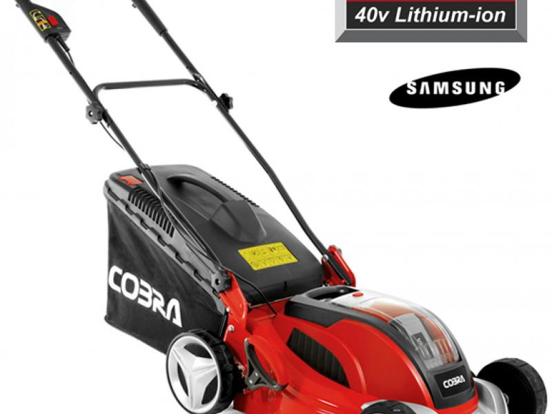 Cobra Battery operated lawnmowers