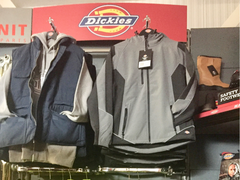 Dickies Clothing and safety footwear